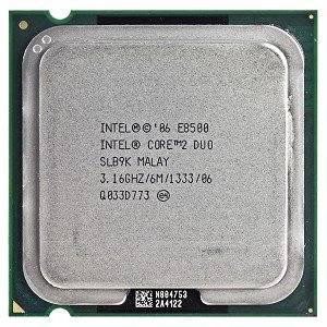 Intel Core 2 Duo E8500 3.16GHz 1333MHz 6MB Socket 775 Dual-Core CPU