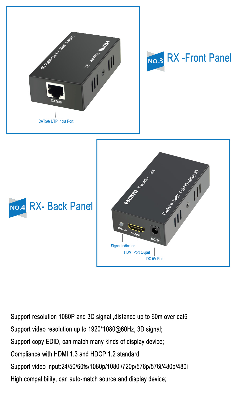 196ft hdmi extender support 1080paikexin hdmi ethernet network 196ft hdmi extender support 1080paikexin hdmi ethernet network extender 60m over single rj45 cat5e sciox Images