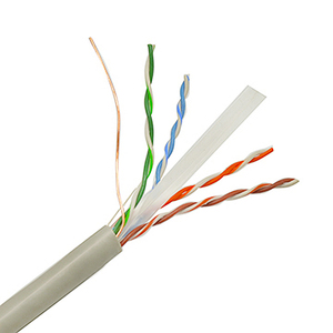 Professional Network Overhead 2 Pair Cat6 Utp Lan Cable
