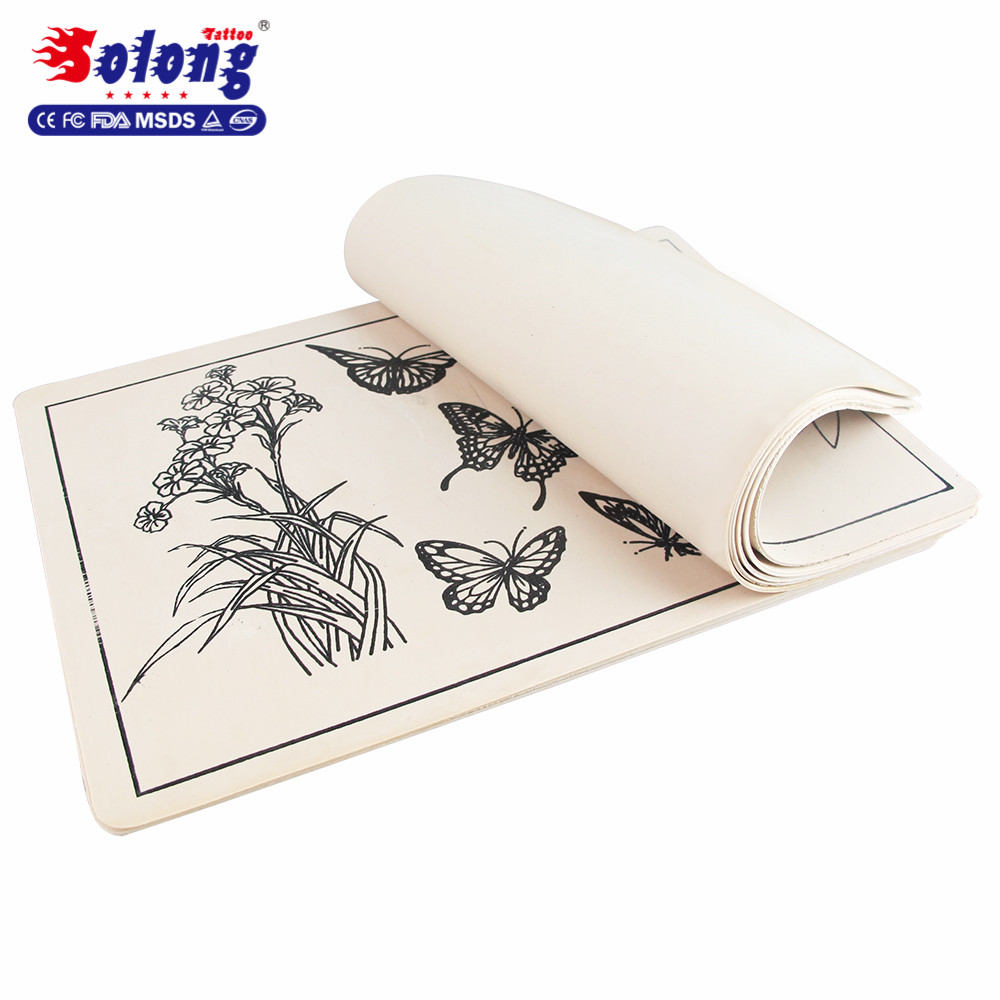 Solong tattoo professional rubby tattoo fake skin for practice