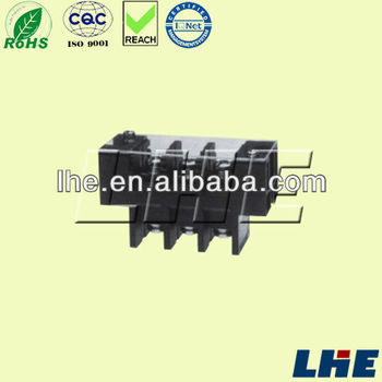 Barrier Terminal Block Connector 600v/65a Pitch 16.0mm With Cover ...