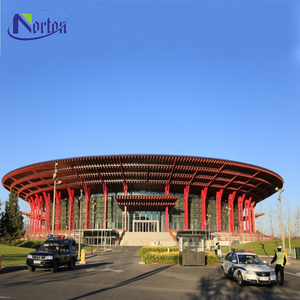 Low Cost Customized Prefabricated Light Steel Villa House for resort resident housing social housing NTBA-K012