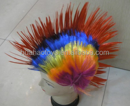 New Arrival Hot Sale Party wig Colorful Hair For Wholesale
