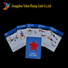 CMYK printing eco-friendly paper educational cards pack YH63