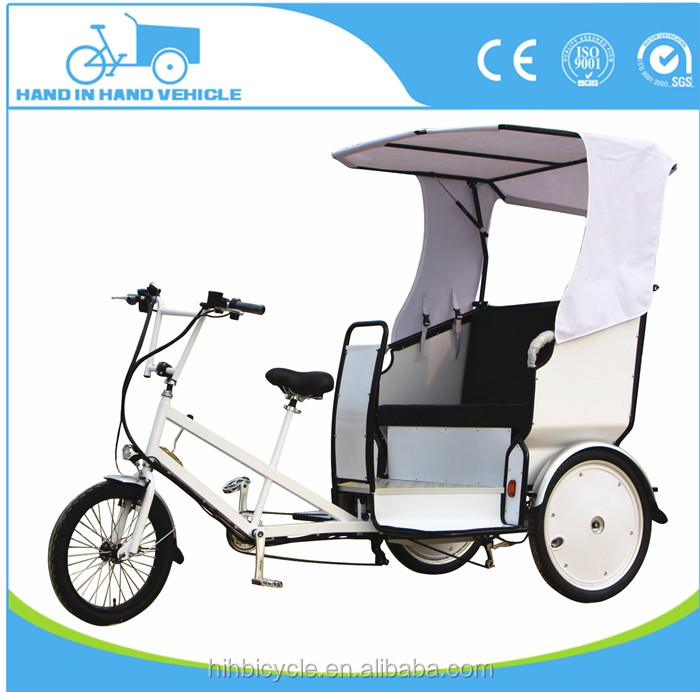 3 wheel leisure taxi bike rickshaw passenger tricycle