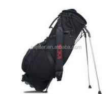 Manufacture custom leather golf stand bags with your branding