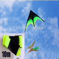free shipping high quality large delta kite prairie kite toys with10m tails handle line outdoor flying