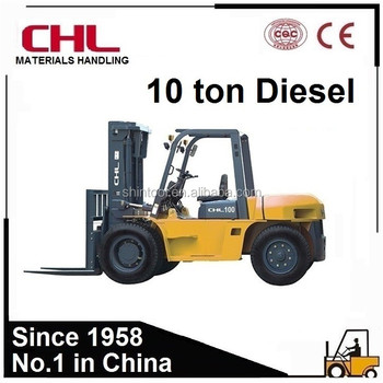 Diesel Forklift Truck 10 Ton Forklift Truck, View 10 Ton Forklift Truck,  HELI & CHL Product Details from Hangzhou Shintool Machinery Co , Limited on