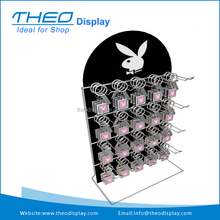 Playboy llavero mostrador display soporte de estante de metal