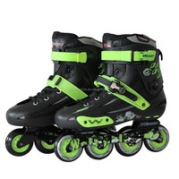 Entertainment patines inline skates shoes with wheels wholesale