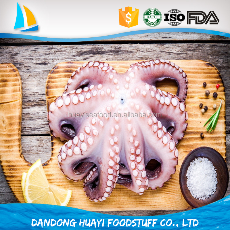 wholesale frozen seafood live fresh frozen octopus price for sale