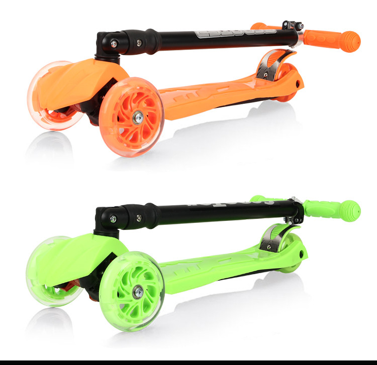 Christmas Sales Professional Made Nice And Safe 4 Wheels Folding Child Bmx Scooter