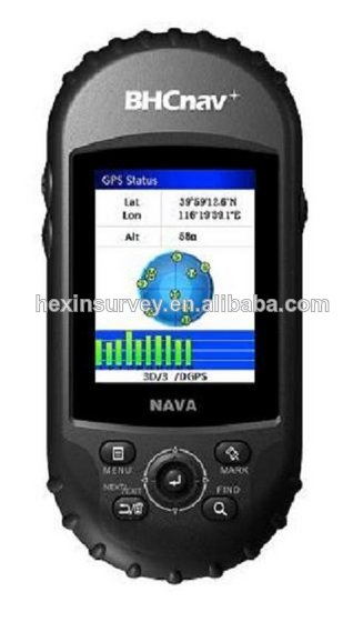 NAVA600 handheld gps receiver 3-axis e-compass, barometric altimeter and thermometer