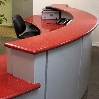 Quartz Stone Rose Kitchen Countertops