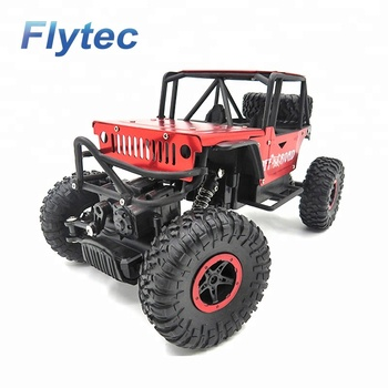Flytec 699 - 117 RC Climbing Cars 4WD 2.4Ghz Crawlers Off Road Vehicle Toy Remote Control Car Toy RTR (Red)
