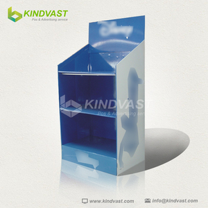 cardboard carton floor display stands/point of sale display stand