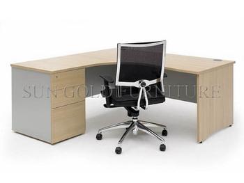 Modern Corner Office Furniture,cheap L Shape Office Desk (SZ OD020)