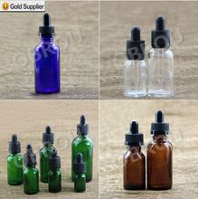5ml 10ml 15ml 30ml 50ml 60ml 100ml black amber dropper e liquid bottles essential oil bottle glass dropper bottle