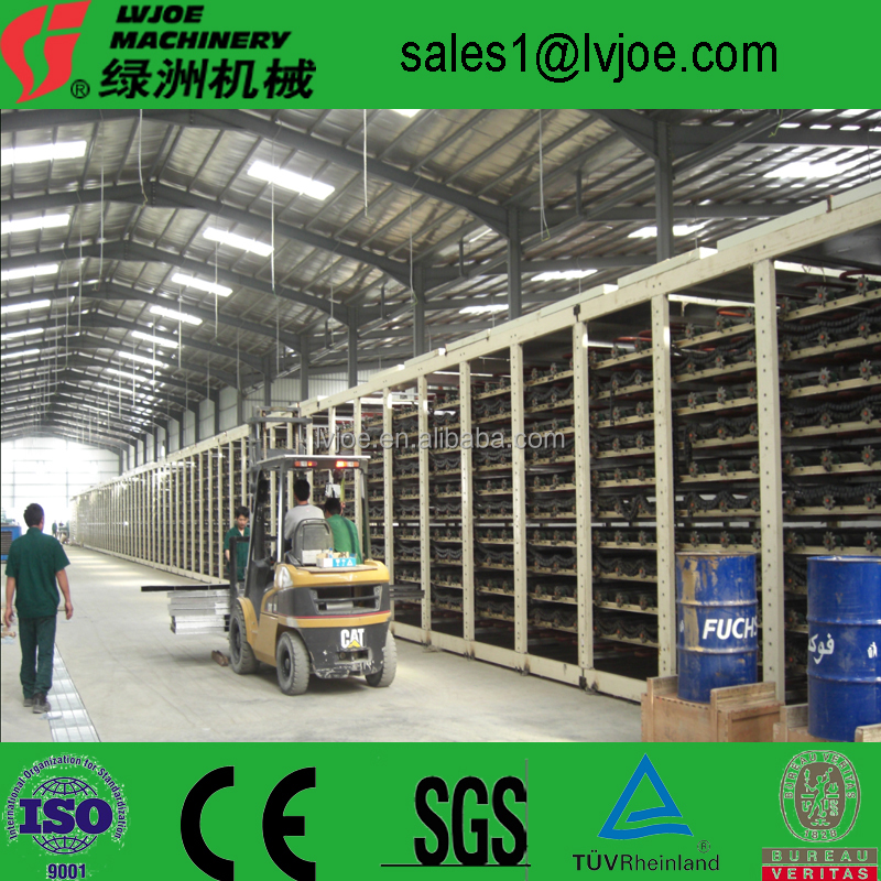 2016 German technology plaster/drywall board production line