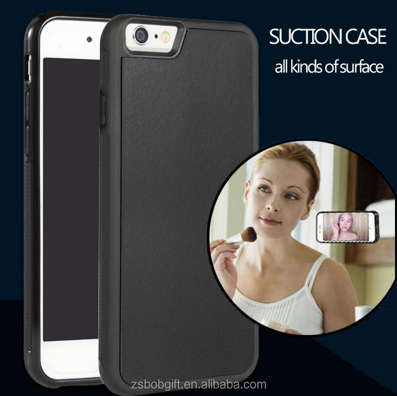 Newest shockproof anti gravity phone case absorb all kinds of plane for apple iphone 5/5s/5se/6/6plus/6s/6splus