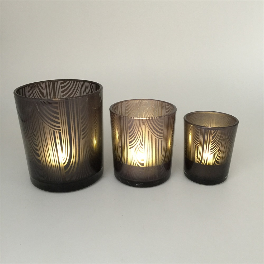 Wholesale Cheap Ornament Tealight Glass Candle Holder