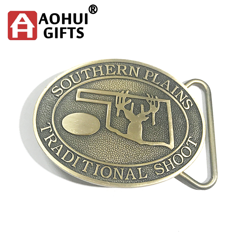 Hot sale die casting souvenir bulk belt buckles