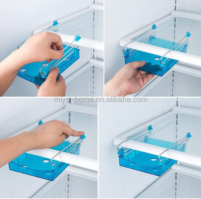 hot selling fridge storage box / Save space freeze cool Fridge Storage rack Drawer type storage box