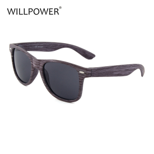 Retro Vintage Wood grain Sunglasses for men Shades dark glasses