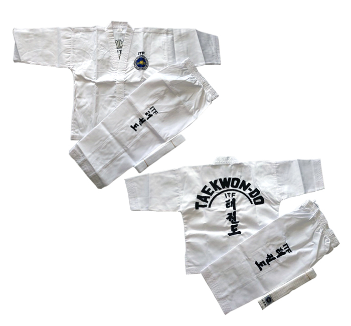 Taekwondo Uniform ITF & WTF approved Master Taekwondo Uniform For Competition