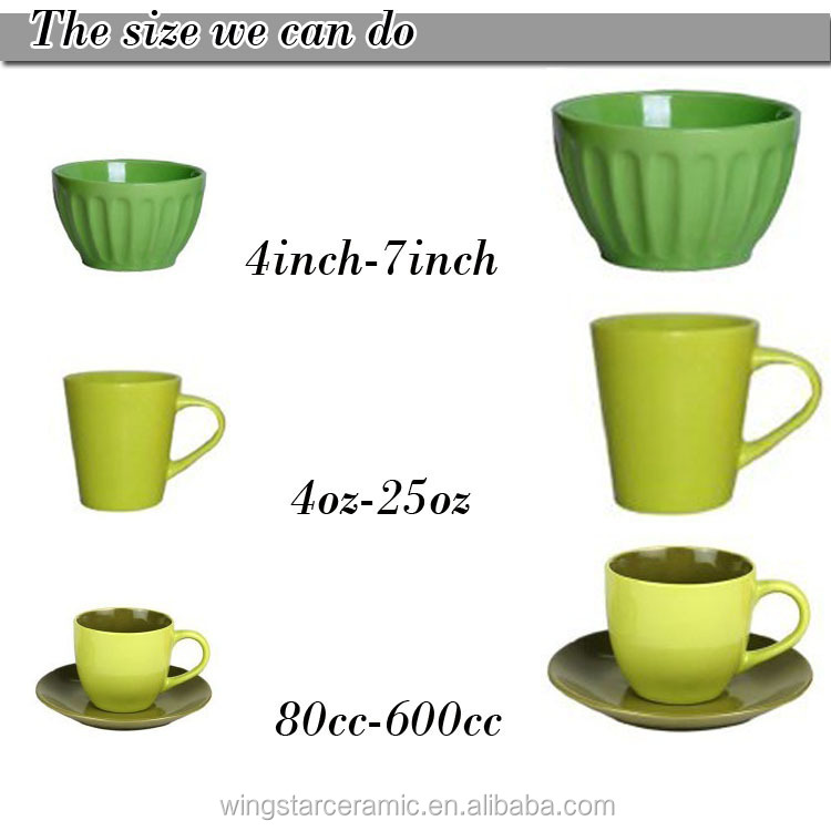 12 Pcs Porcelain Cawa Cups