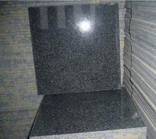 Free sample China harga niro polished black granite tiles 60x60