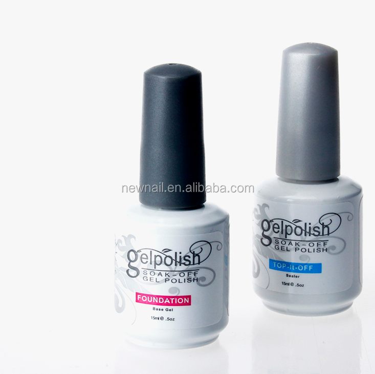 No wipe gel top coat ,nail polish uv gel matte rubber top coat