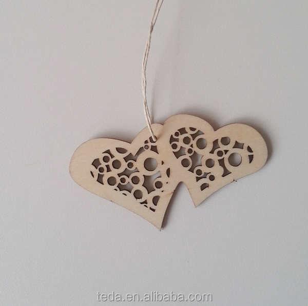teda envo gratuito de doble amor decoracion casera colgando adornos
