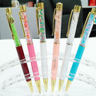 top quality New style hot sales crystal ball pen simple design promotion Many Colors diamond ball pen