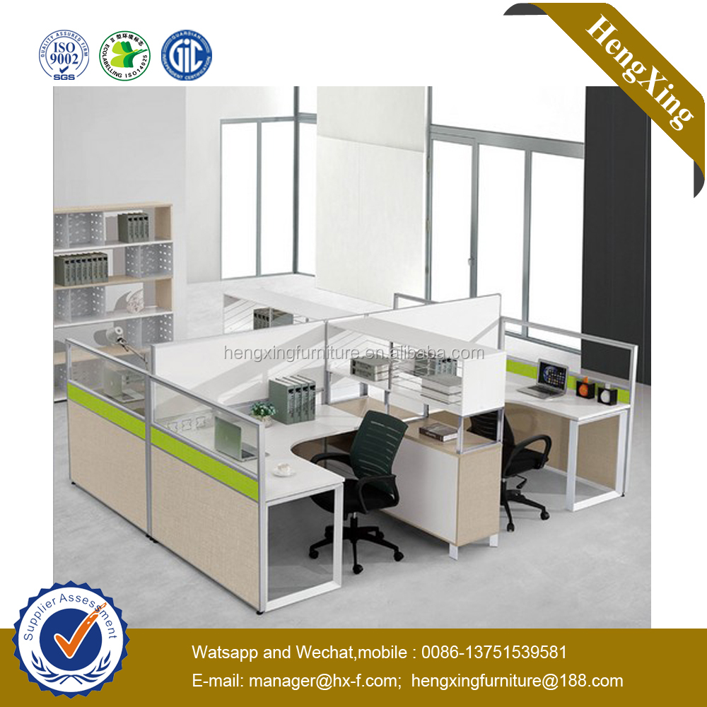 New modern white color metal frame modular office workstation(UL-MFC582)