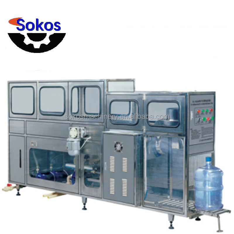 Factory project 5 Gallon Barreled Water Filling Machine with easy operate