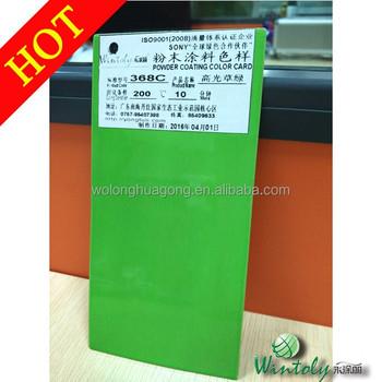 Pantone 368c Glossy Green Epoxy Powder Paint Buy Pantone Paint
