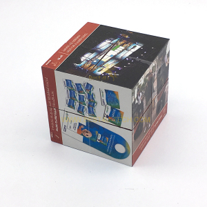 Promotional Magic 3d Cube Antistress 7cm Advertising Magic Folding Cube