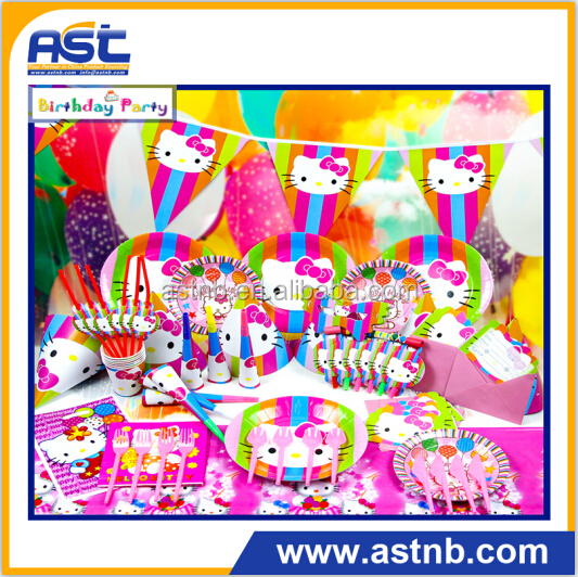 hello kitty theme party supplies wholesale suits