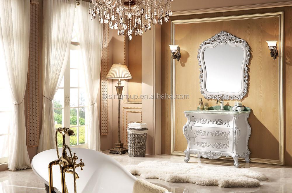 Elegante blanco puro cl sico del estilo antiguo europeo for Banos estilo antiguo