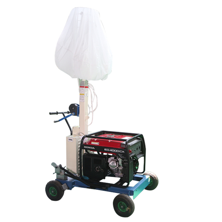 New gasoline engine 5M inflatable balloon light tower for outdoor