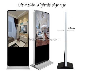 "49"" android 4.4 WiFi/3G/LAN multimedia network advertising player"