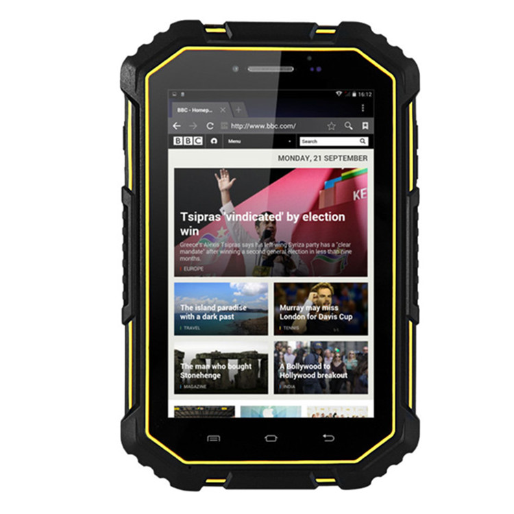 Shockproof and Waterproof tablet 4g Dual OS android 6.0 tablet pc
