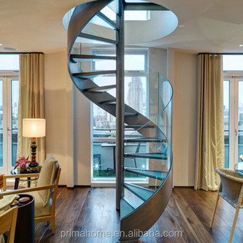 Factory Customized House Low Cost Spiral Stairs For Sale In Philippines