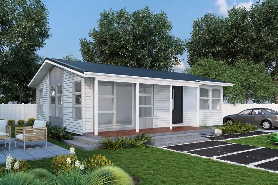 Backyard Cottage Prefab Design House Plan Affordable: Well House Designs Prefab Modular Homes/ Sentry Box