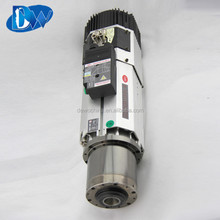 8KW air cooled BT30 tool change spindle motor for cnc router machine