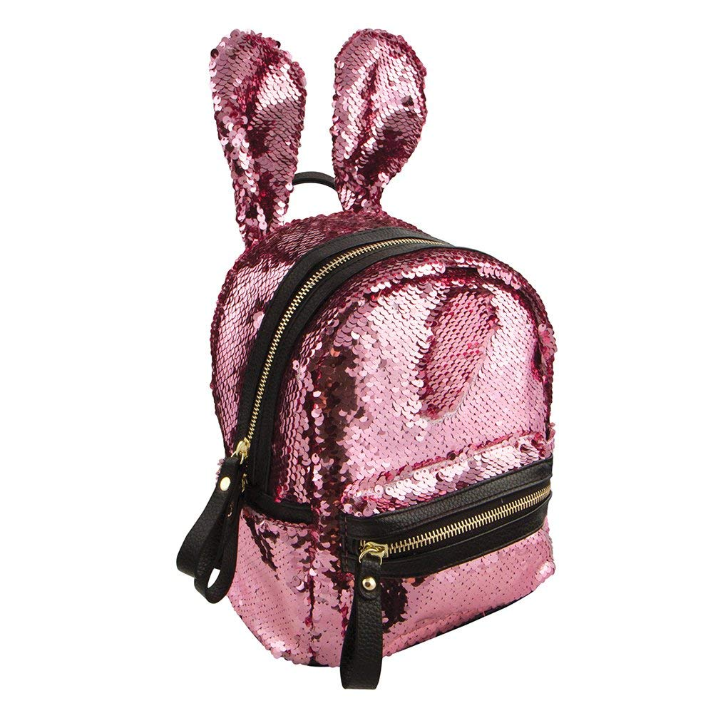Style. Lab Style.Lab Pink Fashion Angels Magic Sequin Bunny Mini Backpack