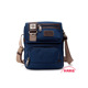 Vintage Military Men Canvas Crossbody Bag Casual Satchel Messenger Shoulder Bags with cotton webbing strap