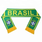 New Design 2018 World Cup 32 National Football Team Scarf Brazil Football Cheerleaders Scarf