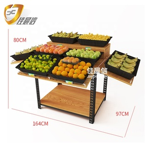Supermarket equipment shelf fruit stand vegetable display Gondola rack for fruit shop shelf